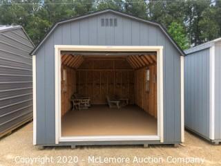 Woodtex 12' x 20' Gambrel Shed - Located in Monroe, GA