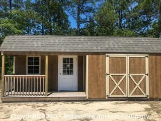 Woodtex 12' x 24' Haven Shed - Located in Elgin, SC