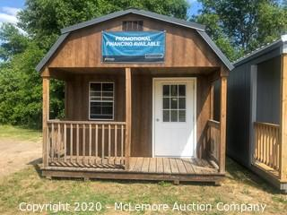 Woodtex 12' x 20' Jackson Shed - Located in West Columbia, SC