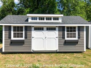 Woodtex 10' x 20' Heritage Shed w Dormer - Located in West Columbia, SC