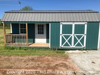 Woodtex 12' x 24' Haven Shed - Located in Fair Play, SC