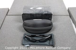 OAKLEY Flak Jacket XLJ Black Iridium Polarized Wrap Men's Sunglasses