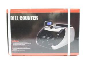 Costway Currency Counter Money Cash Counting Machine Counterfeit Bill Detector UV MG