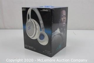 SMS Audio STREET by 50 On-Ear Wired Headphones - White