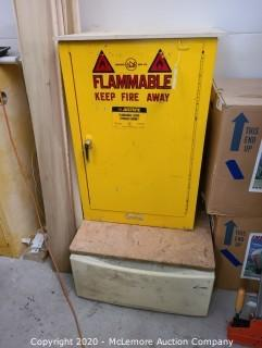 Metal Flammable Safety Cabinet with Pedestal Drawer