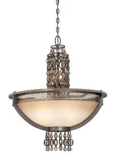 Metropolitan Three Light Bowl Chandelier