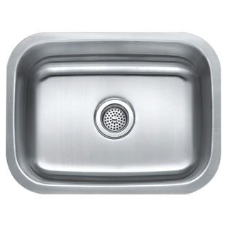 Compass Manufacturing International Stainless Steel Single Bowl Under Mount Sink
