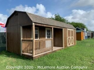Woodtex Haven 12' x 24' Shed (Serial #: 801222) - Located in Corpus Christi, TX