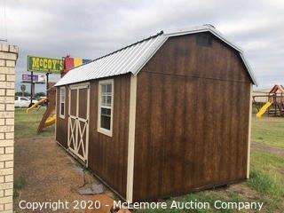 Woodtex Lincoln 10' x 20' Shed (Serial #: 68313) - Located in Alice, TX