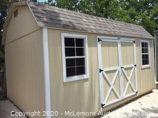 Woodtex Lincoln 12' x 16' Shed (Serial #: 68965) - Located in Sealy, TX