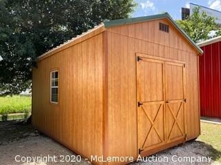 Woodtex Original 12' x 16' Shed (Serial #: 801200) - Located in Sealy, TX