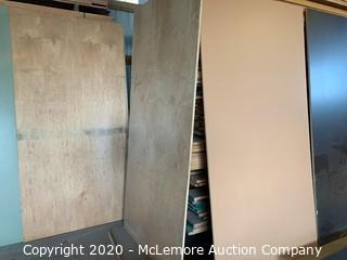 14 Sheets Misc Plywood and Particle Board