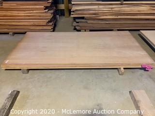 "Unfinished Cherry Plywood 2 Sheets 3/4"" 4x8 2 Sheets 5/8 4x8"
