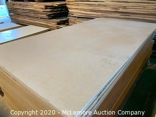 "23 Sheets 5/8"" Unfinished Particle Board"