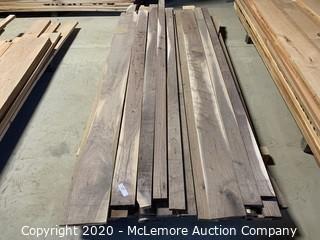 210 Board Ft 4/4 Black Walnut Random Lengths and Widths