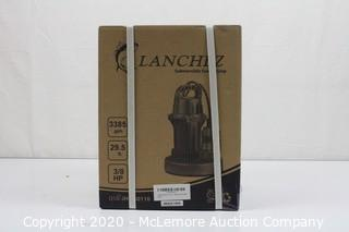 Lanchez Q550110 3/8 HP Submersible Utility Sump Pump
