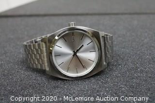 Nixon Watch Time Teller All Silver A045-1920