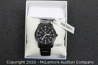 Seiko SNZG17K1 Wristwatch - Black