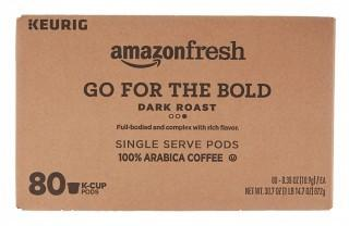 80 Ct. K-Cups, Go For the Bold Dark Roast, Keurig K-Cup Brewer Compatible