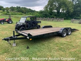 18FT Dovetail Trailer - Bill of Sale Only