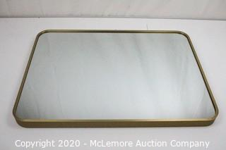 Wall Mountable Mirror - Bronze