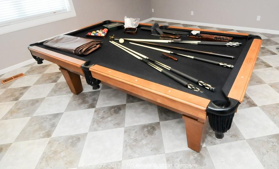 McLemore Auction Company Auction Moving Sale Of College Grove - Pool table moving equipment