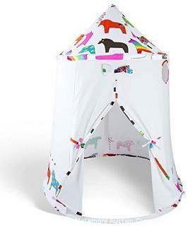 Kids' Indoor Canvas Play Tent Teepee, Horses