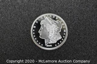 1oz Sunshine Morgan Silver Round (Uncirculated) SI