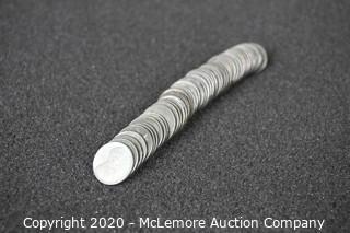 1943 Steel Wartime Pennies (50ct) P/D/S