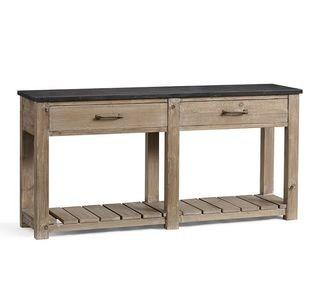 """Parker 63"""" Reclaimed Wood Console Table- Missing Top"""