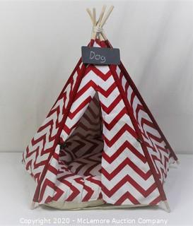 Pet Teepee Dog(Puppy) & Cat Bed - Portable Pet Tents & Houses for Dog(Puppy) & Cat