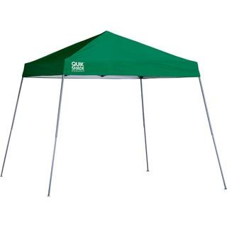 Quik Shade Expedition Pop-Up Canopy — 10ft.L x 10ft.W, Green, Slant Leg