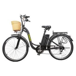 "NAKTO CAMEL Women 26"" 250W Electric Cruiser Bike Retail: $927.99 (BATTERY NOT INCLUDED!)"