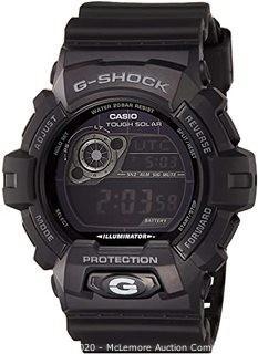 Casio Men's GR8900A-1 G-Shock Tough Solar Digital Black Resin Sport Watch