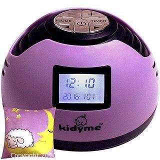 Kidyme Baby Noise Maker Machine Plus Pillow Gift Set - White Noise + 8 Other Soother Sleep Sound Effect