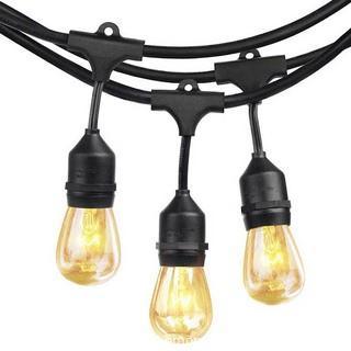 SHINE HAI Outdoor String Lights -14ft