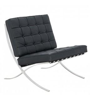 Barcelona Chair - LeisureMod BR30BLLC Bellefonte Style Modern Pavilion Chair MSRP: $1265