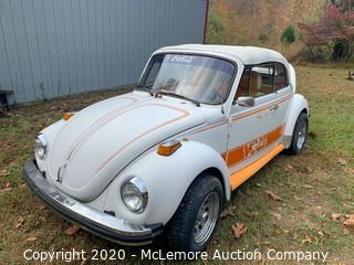 1979 VW Beetle with University of Tennessee Theme