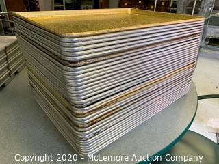 (36) Large Baking Sheets