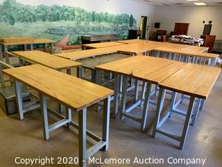 (16) Bulk Lot of Work Tables