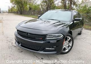 2016 Dodge Charger SXT AWD with a 3.6L V6 DOHC 24V Engine VIN: 2C3CDXJG7GH238072