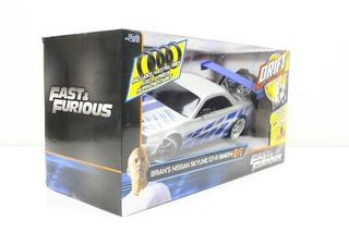 Jada Toys - Fast and Furious 1:10 Drift R/C- Nissan Skyline GT-R