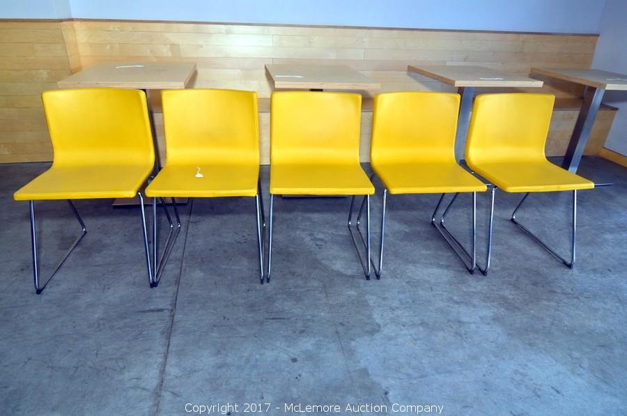 Five IKEA Bernhard Chairs. U2039u203a