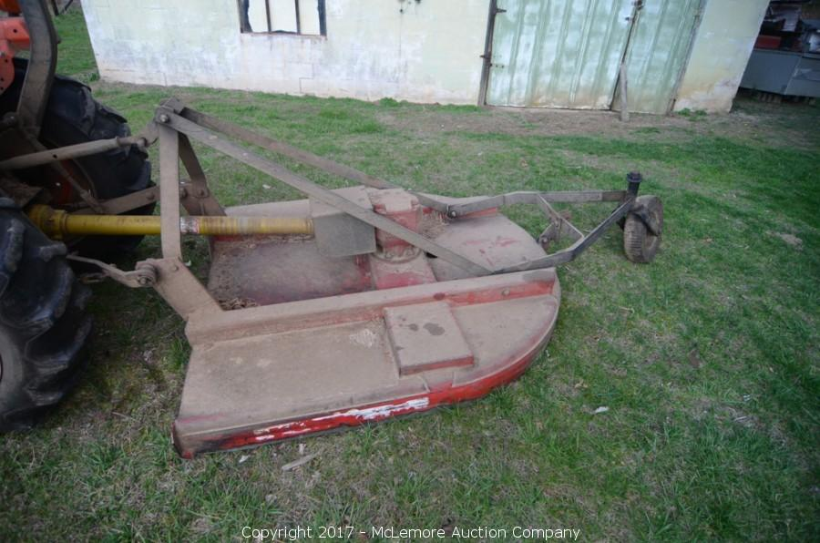 McLemore Auction Company - Auction: Kubota L2600DT 4WD Tractor and