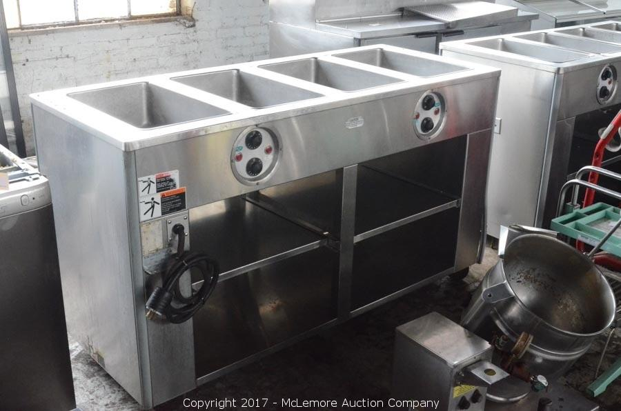 McLemore Auction Company Auction Inventory Reduction For L L - 4 well gas steam table