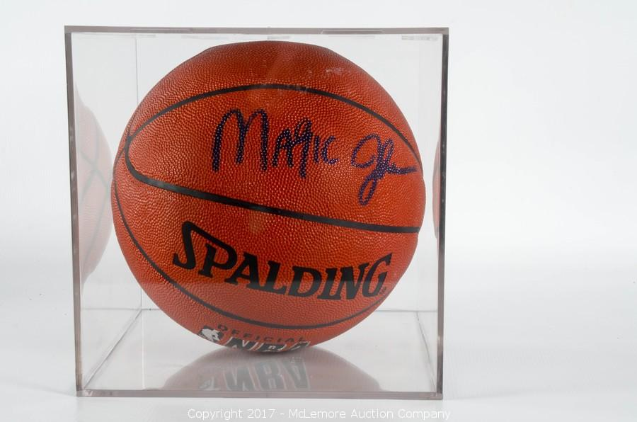 innovative design d66db e5fbb McLemore Auction Company - Auction: Signed Basketball ...