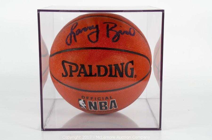 innovative design b9833 1476b McLemore Auction Company - Auction: Signed Basketball ...