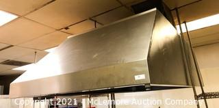 Large Commercial Vent Hood