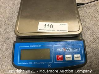 AvaWeigh Digital Weight Scale