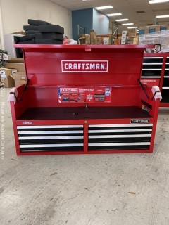 CRAFTSMAN 2000 Series 51.5-in W x 24.5-in H 8-Drawer Steel Tool Chest (Red)